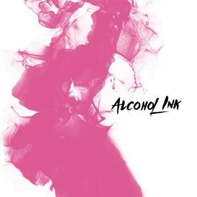 Alcohol Ink - Barbie