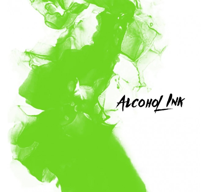 Alcohol Ink - Crazy Lime
