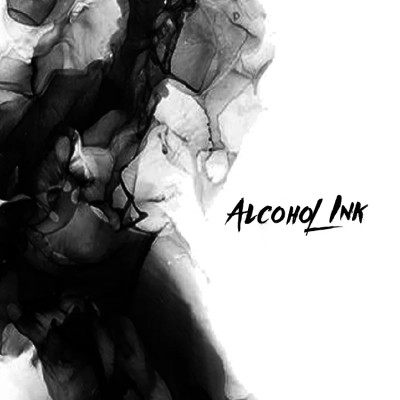 Alcohol Ink - Black Jack