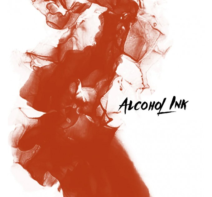 Alcohol Ink - Little Fox