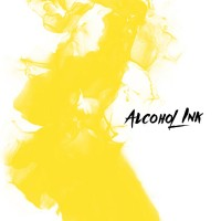 Alcohol Ink -Sunny Bunny