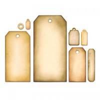 Framelits Die Set 8PK Tag Collection by Tim Holtz
