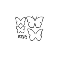 Butterflies Metal Die cut set