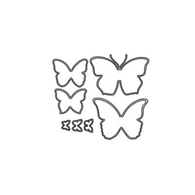 Butterflies Metal Die cut set