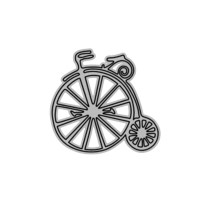 Bicycle Metal Die cut