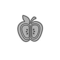 Apple Metal die cuts
