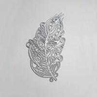 Big Feather - Metal Die cut set