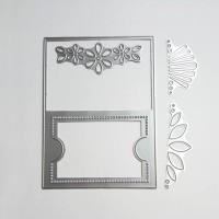 Floral frame for gift card