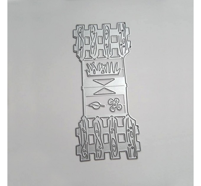 Bag buckle mold - Fence- Metal Die cut set