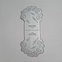 Bag buckle mold - Flowers- Metal Die cut set