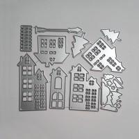 City Building Shape Metal Cutting Dies
