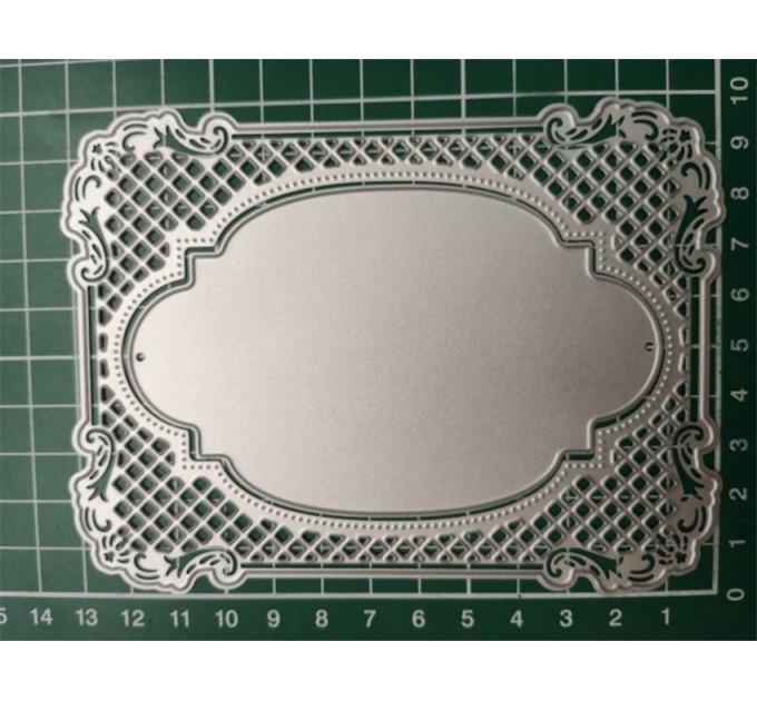 Metal cutting dies frame