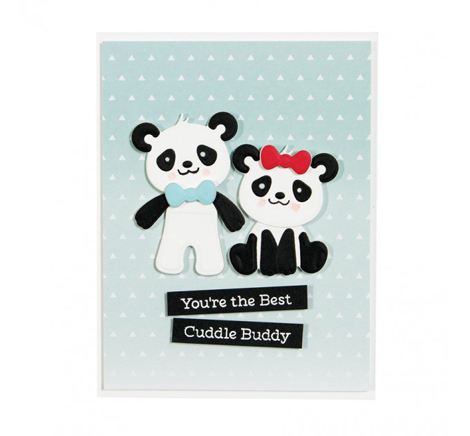 Panda Die Cuts