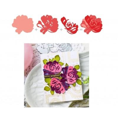 3d rose set