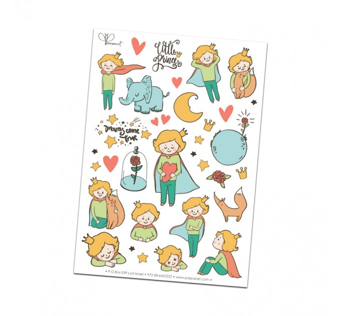 Little Prince Paper Stickers