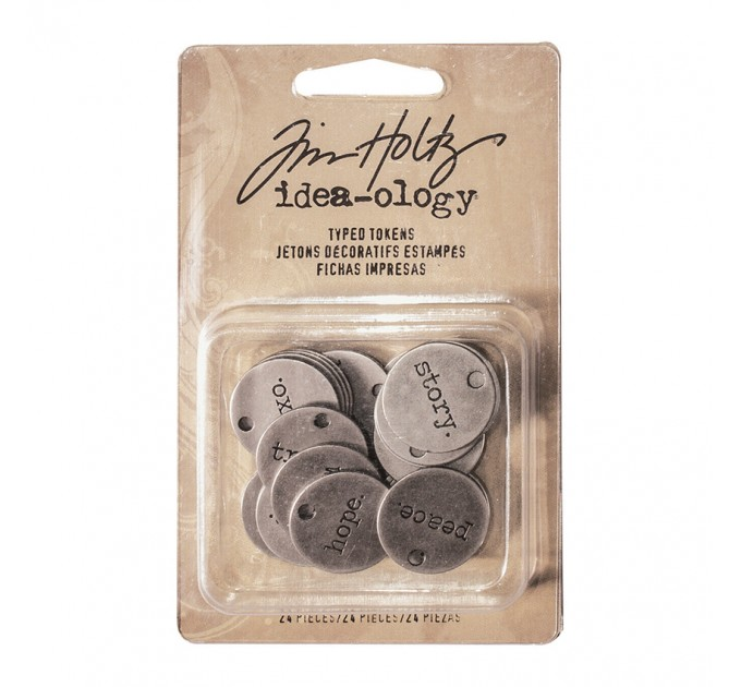 Tim Holtz Idea-ology Typed Tokens