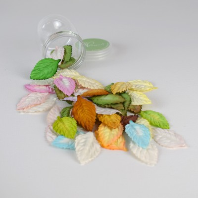 Mulberry paper leaves - mix color