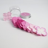 Hydrangeas Mulberry Paper Flowers - Pink Mix