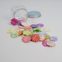 Flat Daisy Petals Mix Colors