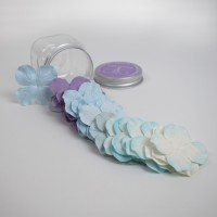 Hydrangeas Mulberry Paper Flowers - Blue Mix