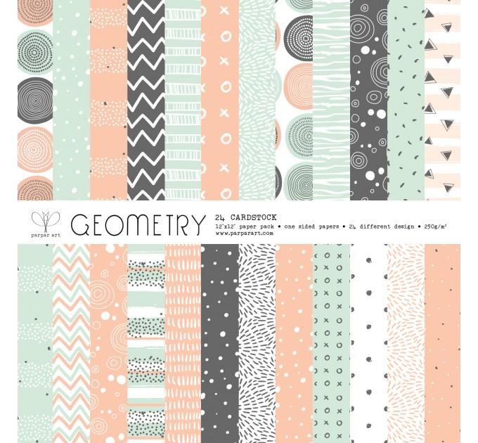 """Geometry 12""""x12"""""""