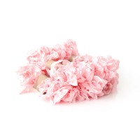 Shabby Crinkled Ribbon - Pink Baby