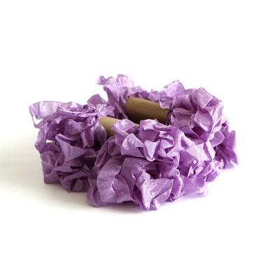 Shabby Crinkled Ribbon -Lavender