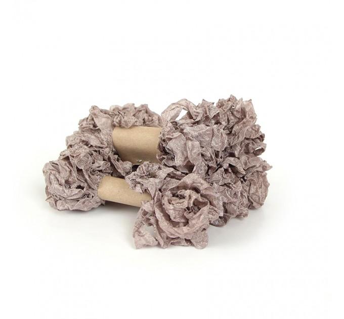 Shabby Crinkled Ribbon - Vintage
