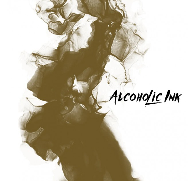 Alcohol Ink - Night Desert