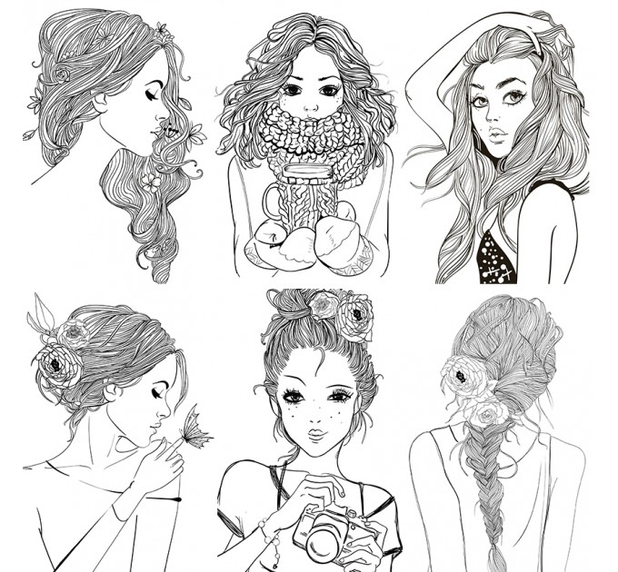 Coloring Cards Pack of 10