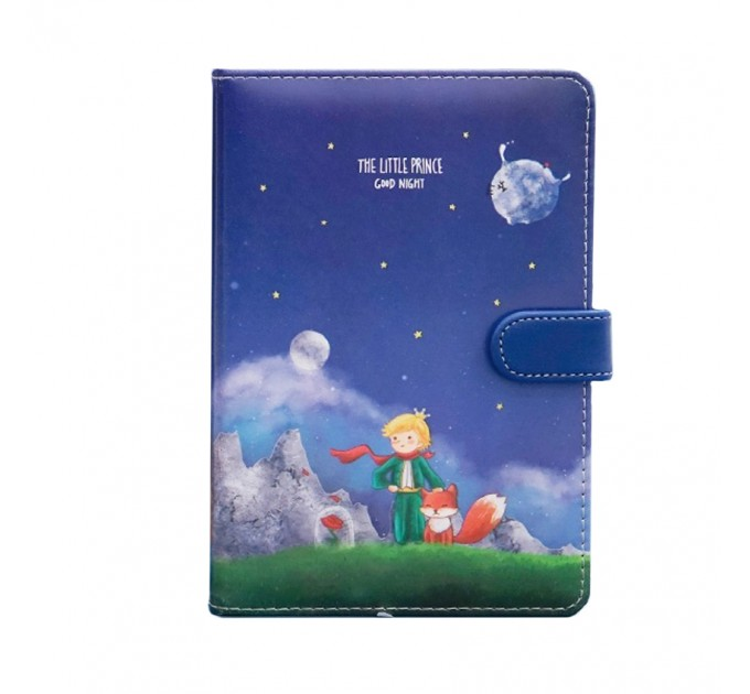 Little Prince Notebook Magnetic bukle Hard Cover
