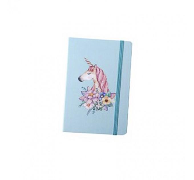 Mini Notebook A6 blue
