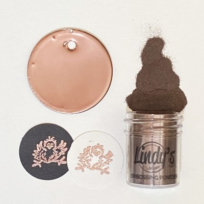 Cool Man Copper Detail embossing powder