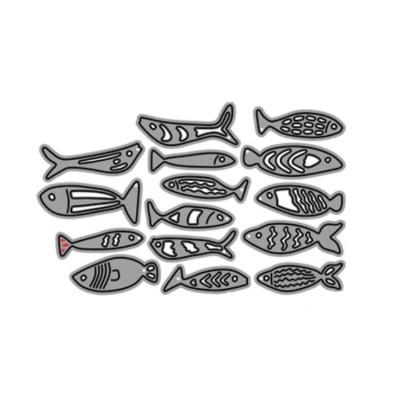 Fish Die cut