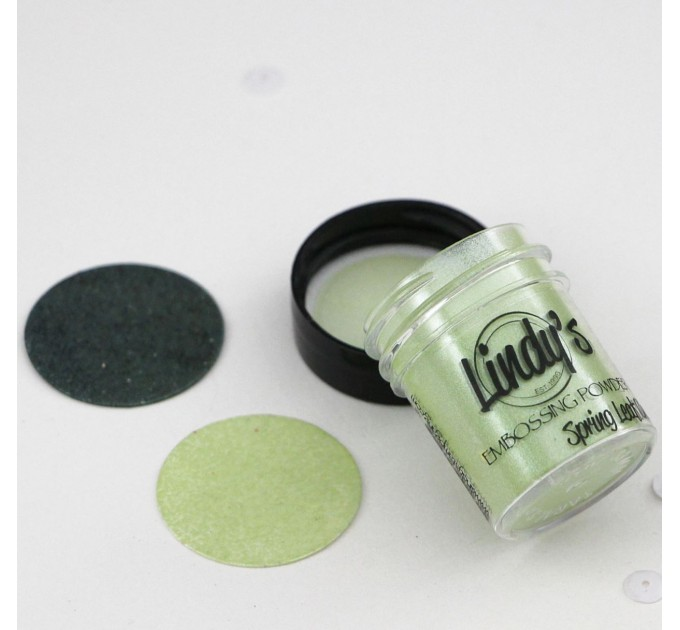 Spring Leaf Chartreuse embossing powder