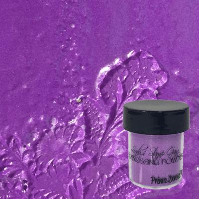 Prima Donna Purple embossing powder