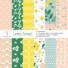 Simple Floral paper pad