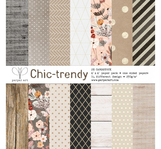 Chick Trendy paper pad