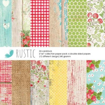 Rustic paper pad
