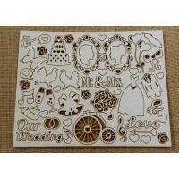 Wedding - chipboard elements