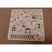 boy's home chipboard
