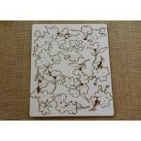 floral chipboard
