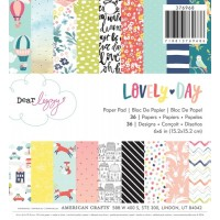 lovely day paper pad