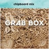 Chipboard Grab Box - real value 100 nis - surprise box