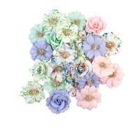 PRIMA FLOWERS® WATERCOLOR FLORAL COLLECTION – TINY COLORS – 24/ 1 IN