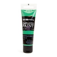 ART ALCHEMY – IMPASTO PAINT – BOTTLE GREEN 2.5 OZ