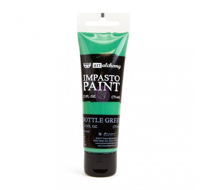 ART ALCHEMY – IMPASTO PAINT – BOTTLE GREEN 2.5 OZ