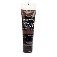 ART ALCHEMY – IMPASTO PAINT – DARK CHOCOLATE 2.5 OZ