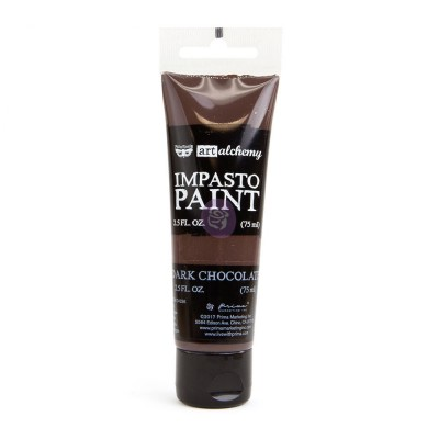 ART ALCHEMY – IMPASTO PAINT – DARK CHOCOLATE 2.5 OZ