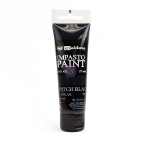 ART ALCHEMY – IMPASTO PAINT – PITCH BLACK 2.5 OZ
